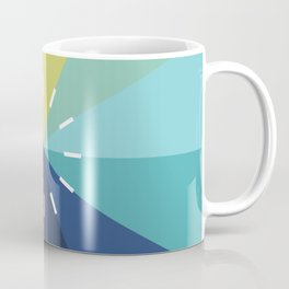 Modern Color Wheel Coffee Mug