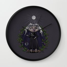 Sous La Lumière De La Lune Wall Clock