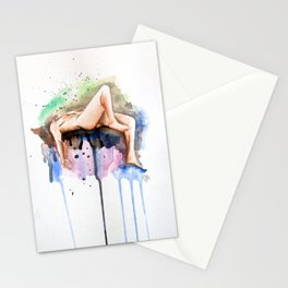 Flying Figure Stationery Cards