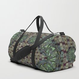 Look Up, Or Don't - The Cleveland Trust Rotunda Duffle Bag