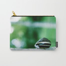 Snail on Silver Birch Carry-All Pouch