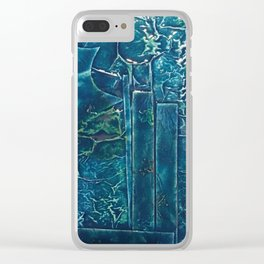 City in the Storm Clear iPhone Case