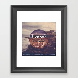 Panic! at the Disco - Northern Downpour Framed Art Print