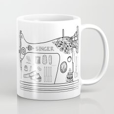 Weapons Of Mass Creation - Sewing Coffee Mug