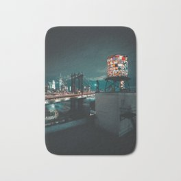 The Water Tower New York City (Color) Bath Mat