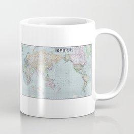 1914 Japanese World Map Coffee Mug