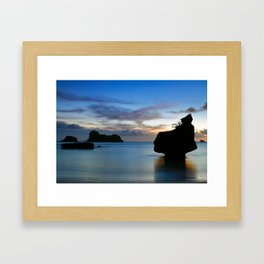 Coromandel Dawn Framed Art Print
