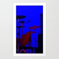 drums Art Prints featuring Drums by De Bird