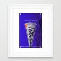 hot fuzz Framed Art Prints featuring Hot Fuzz by Lucas Bergertime