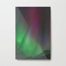 This is the Aroura Metal Print
