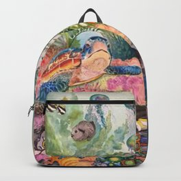 Journey Under the Sea by Maureen Donovan Backpack