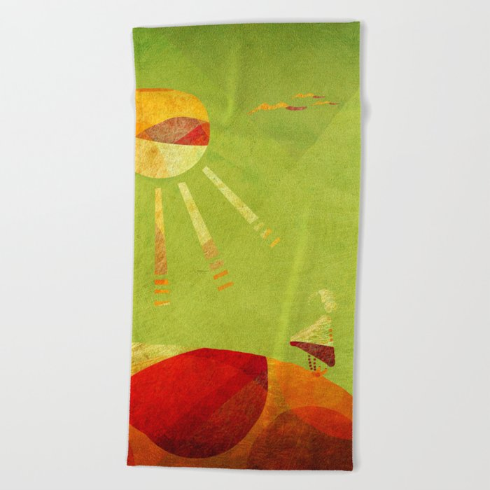 Precipice Beach Towel