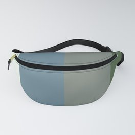 Parable to Behr Blueprint Color of the Year and Accent Colors Vertical Stripes 10 Fanny Pack