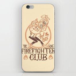 Firefighter Club iPhone Skin