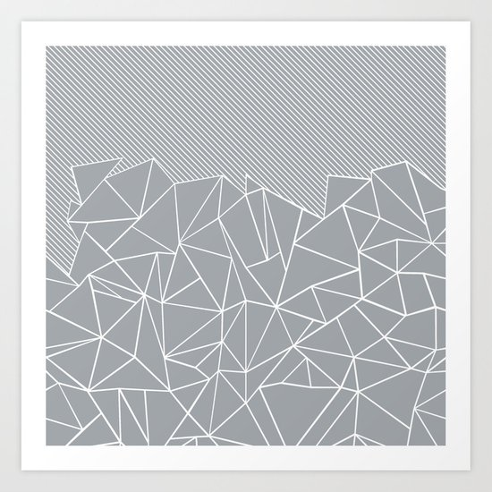 Ab Linear Grey by projectm