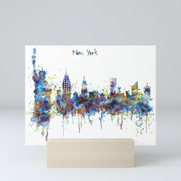 New York skyline Mini Art Print