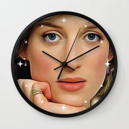 Princess Diana (Oil Paint Art) Wall Clock