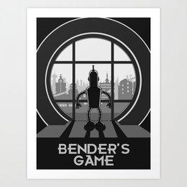 Bender's Game Art Print