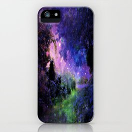 Fantasy Path Night iPhone Case