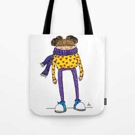 Betty in color Tote Bag