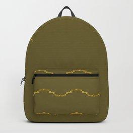 Zig Zag Pattern Backpack