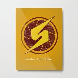 Samus Hero Metal Print