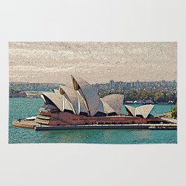 Sydney Opera House Rug