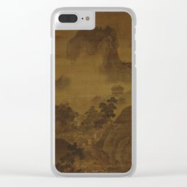 Sesshu Toyo - Landscape of Four Seasons, Fall (1490s) Clear iPhone Case