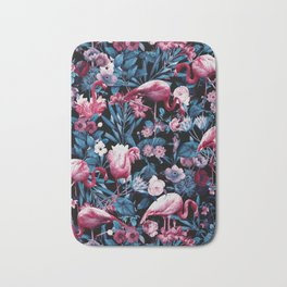 Floral and Flamingo VIII Bath Mat