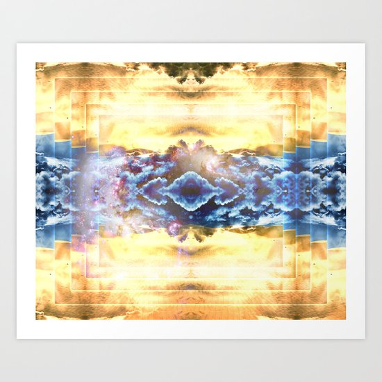 Sahara's Ghost Art Print