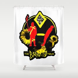 The Bandit Tour Shower Curtain