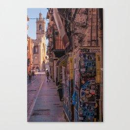 Tagged Street Canvas Print