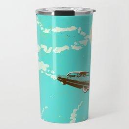 VINTAGE FLYING CAR Travel Mug