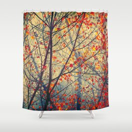 trees VIII Shower Curtain