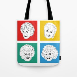 Golden Girls - Thank you for being a friend stationary card Tote Bag
