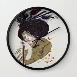 The Cloche - Art Deco Wall Clock