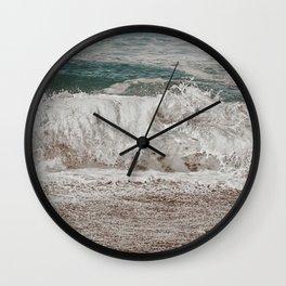 Washed off dreams Wall Clock