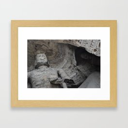 Yungang Grottoes Framed Art Print