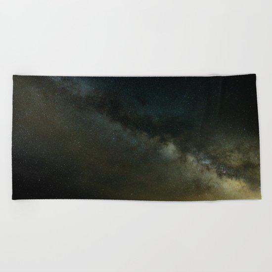 Amazing Galaxy Beach Towel