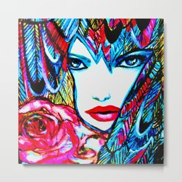 PHOENIX  #society6 #decor #buyart Metal Print