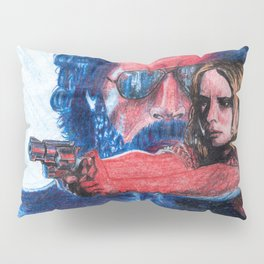 'Rush' film poster - Drawing in colour pencil Pillow Sham