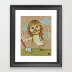 DOODLE GOOSE Framed Art Print