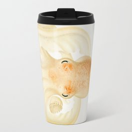 Peachy Keen Octopus Circa 1898 Travel Mug