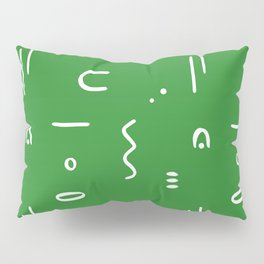 Peppy (moss green) Pillow Sham