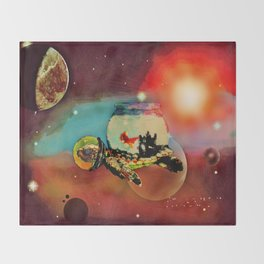 SPACE TURTLE VII - 202 Throw Blanket
