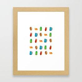Gummies 2 Framed Art Print