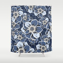 Mandala Flowers 12 Shower Curtain