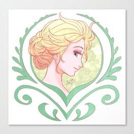 Crocus Elsa Canvas Print