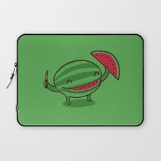 A Happy Slice of Life Laptop Sleeve