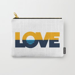 LOVE - People's Flag of Milwaukee Carry-All Pouch